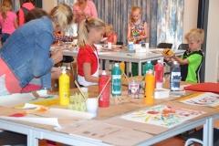 Kinder knutsel middag